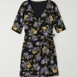 Abercrombie & Fitch colorful floral mini dress